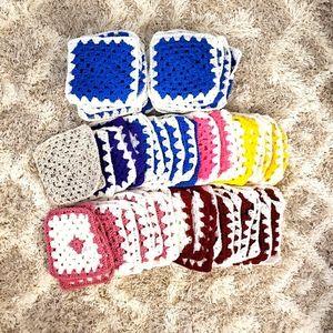 74 Crochet pieces🌹🥀
